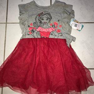 Disney Elena of Avalor dress- size 6